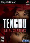 Tenchu: Fatal Shadows (PS2), Good PlayStation2, Playstation 2 Video Games