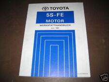 Werkstatthandbuch Toyota Camry Motor 5S-FE Stand 06/1991