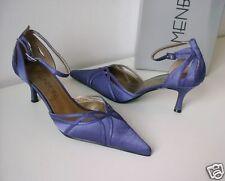 MENBUR Abendschuh Pumps Mule lila purple Gr. 37 Abend Schuhe