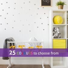 40 POLKA DOTS pack wall art sticker decal small medium large confetti nursery
