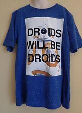 "Star Wars ""Droids Will Be Droids"" BB-8 t shirt NWT"