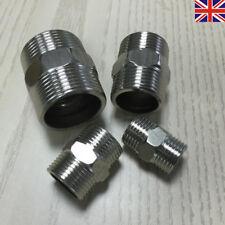 UK Reducing Nipple BSP Male to Male Stainless Steel Adapters Hexagon