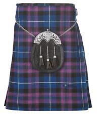 New Scottish Tartan Wedding Pride of Scotland 5 Yard Acrylic Kilt Size 30-54