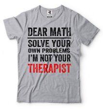 School T-shirt Math hater funny Problem Solving Tee shirt Humor high school Tee