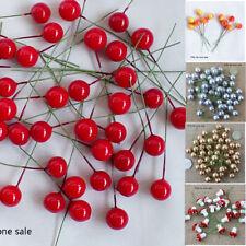 50x Artificial Bubble Berries Wreaths Garland Supplies Home Wedding Party Decor