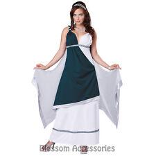CL40 Roman Beauty Greek Goddess Toga Fancy Dress Up Halloween Party Costume