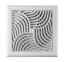 AIR Vent griglia con Fly Schermo bianco moderno decorato condotte Copertura Griglia TX