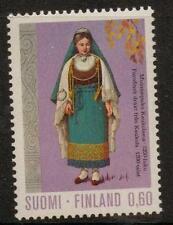 FINLAND SG828 1972 60p KAUKOLA GIRL MNH