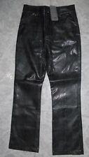 Pantalón cuero niña en color negro en talla 9 - 10 años y 11 - 12 años