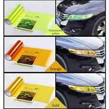 Self Adhesive Car Light Sticker Smoke Fog Light Taillight Headlight Tint Film