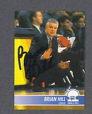 Brian Hill signed 1994 Sky Box basketball card