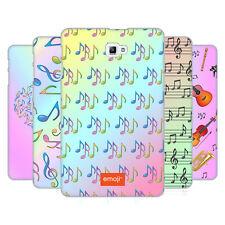 Official EMOJI musique Patterns Coque Arrière Dur SAMSUNG pour tablettes 1