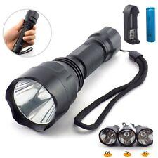 Bright Led Flashlight L2 T6 Q5 Tactical Linterna Torch 18650 Flash Light lamp