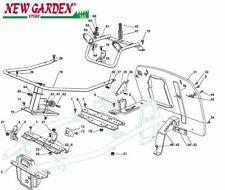 Vista desarrollada marco tractor podadora EL63 XE80VD CASTELGARDEN recambio