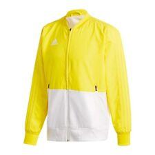 Adidas Condivo 18 Chaqueta de presentación Amarillo Blanco