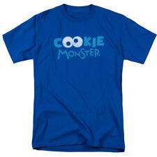 Sesame Street Cookie Monster Eyes Licensed Adult T Shirt