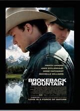 146540 Brokeback Mountain FRAMED CANVAS PRINT AU