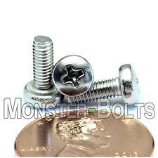 M3 x 8mm  Stainless Steel Phillips Pan Head Machine Screws, Cross Recessed A2