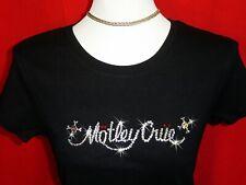 Bling Motley Crue Swarovski Rhinestone Concert Shirt Brand New