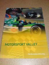 MOTORSPORT VALLEY - Britains contribution motor indust