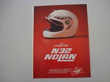 advertising Pubblicità 1981 CASCO NOLAN N32