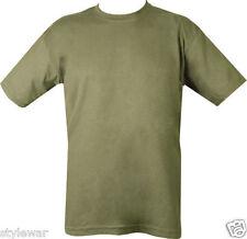 New Kids Khaki Green Army Children Comfortable Summer Short Sleeve T-Shirts »