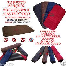 TAPPETO MAGICO MICROFIBRA ZERBINO FONDO PVC ANTISCIVOLO 42X33 CM VISTO IN TV