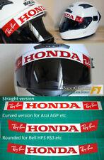 Helmet Visor Sticker Honda F1 Jenson Button Fan 1 unit 3 options 3 prices