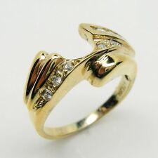 DIAMOND WRAP ENHANCER RING IN 14K YELLOW GOLD RET $1599