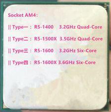 AMD Ryzen 5 R5-1400 R5-1500X R5-1600 R5-1600X Socket AM4 CPU Processor