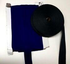 35 mm Herringbone Weave Cotton Tape - From 70p per Metre