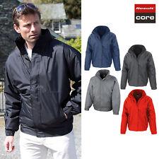 Result Core Men's Waterproof Channel Jacket R221M - Superwarm Winter Hooded Coat
