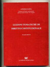 D'Atena# LEZIONI TEMATICHE DI DIRITTO COSTITUZIONALE *M