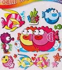 3D Wall Stickers Decorate Kids Nursery Play Room Windows Self Adhesive 4 Themes
