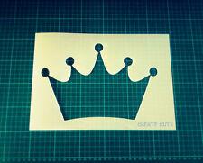 La Principessa Corona riutilizzabile Stencil per Interior Decor/Vivaio Camera