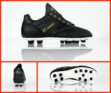 RYAL scarpe calcio artigianali 70 ANNI TOP FG colore NERO
