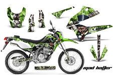 AMR RACING MOTOCROSS D TRACKER OFF ROAD DECAL WRAP KAWASAKI KLX 250 08-12 MTGSS