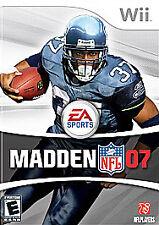 Madden NFL 07 (Nintendo Wii, 2006)