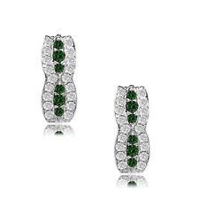 925 Sterling Silver Birthstone Fancy Leverback Earrings 12 Month Gemstone L23-