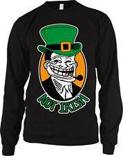 Not Irish Green Cap Hat Pipe Pride Shamrock Ireland Patrick's Day Men's Thermal