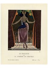 Gazette du Bon Ton - The Prologue or Comedy at the Castle