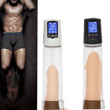 Electric Beginner Male Penis Enlarger Pump Bigger Growth Enhancer LCD display US