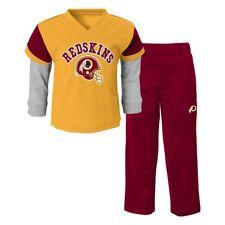 """Washington Redskins NFL """"Charger"""" Team Long Sleeve & Pants Set Infant (12M-24M)"""
