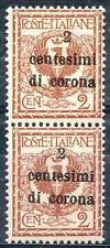 Occupazioni - Trento e Trieste 1919 n. 2u ** varietà (m836)