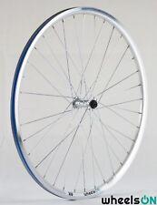 QR 700c Wheelson Front Wheel Rear Wheel Shimano Hub Double Wall Silver 36H