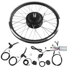 "36V/48V 250W 20"" Front/Rear Wheel Electric Bicycle Motor E-Bike Conversion Kits"