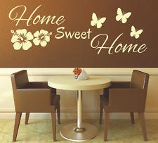 Wandtattoo Spruch , Home sweet Home Zuhause Wandsticker Sticker Wandaufkleber 7