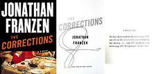 Jonathan Franzen SIGNED The Corrections 1st/1st HC