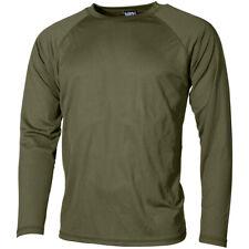 MFH US Actividad Camiseta Level I Gen III ECWCS Termal Ejército Militar OD Verde