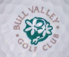 (1) BULL VALLEY GOLF CLUB COUNTRY CLUB COURSE LOGO GOLF BALL